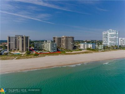 Lauderdale By The Sea Condo/Townhouse For Sale: 1850 S Ocean Blvd #301
