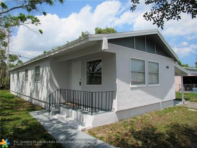 Fort Lauderdale Single Family Home For Sale: 3081 NW 24th St