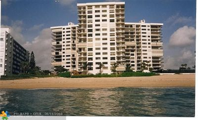 Lauderdale By The Sea Condo/Townhouse For Sale: 1800 S Ocean Bl #510