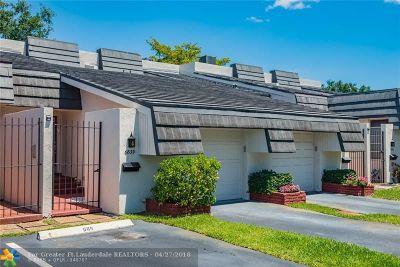 Plantation Condo/Townhouse Backup Contract-Call LA: 6833 NW 4th Ct #604