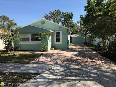 West Palm Beach Single Family Home For Sale: 524 50th St