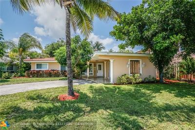 Fort Lauderdale Single Family Home For Sale: 5831 NE 22nd Way