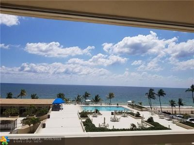 Fort Lauderdale Condo/Townhouse For Sale: 4300 N Ocean Blvd #4C