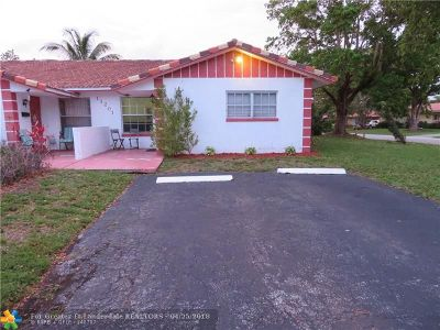 Coral Springs Single Family Home Backup Contract-Call LA: 11201 NW 39th St
