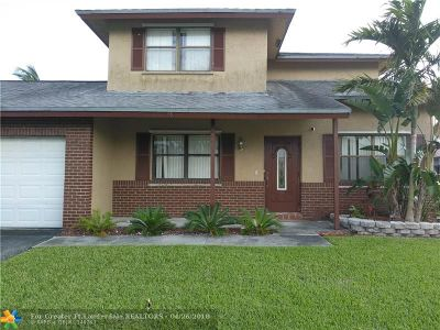 Sunrise Single Family Home For Sale: 11650 NW 41st St