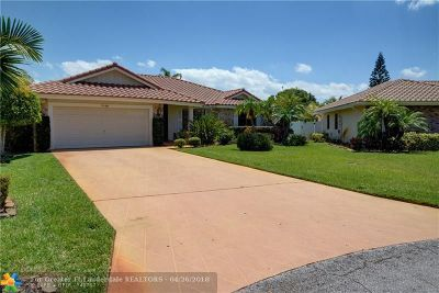 Coral Springs Single Family Home For Sale: 7110 NW 42nd Ct