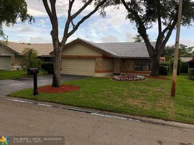 Coral Springs FL Single Family Home For Sale: $374,500
