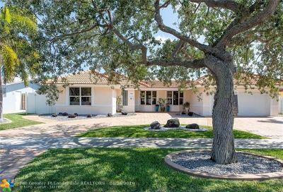 Fort Lauderdale Single Family Home For Sale: 2108 NE 68th St
