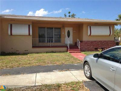 North Miami Beach Single Family Home Backup Contract-Call LA: 1801 NE 159th St