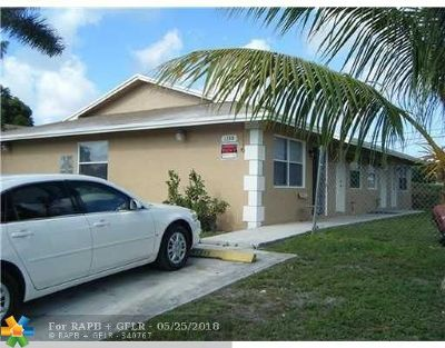 Fort Lauderdale Multi Family Home Backup Contract-Call LA: 1130 NW 29th Way
