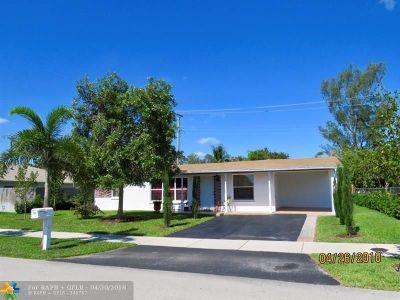 Pompano Beach Single Family Home For Sale: 2433 NE 12th Ter