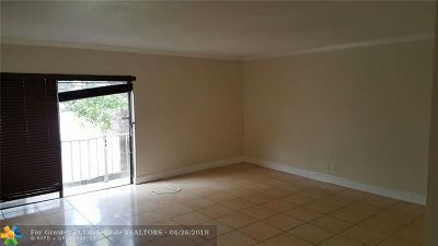 Coral Springs Rental For Rent: 3760 NW 115th Way #6-2