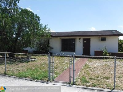 Miami Single Family Home For Sale: 4474 NW 203rd St