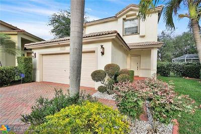 Coconut Creek Single Family Home For Sale: 6424 Egret Ave