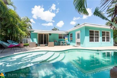Oakland Park Single Family Home For Sale: 4630 NE 15th Ter