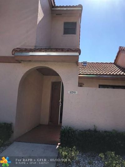 Miami Condo/Townhouse For Sale: 17293 NW 60 Ct #17293