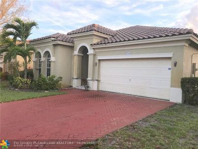 Miramar Single Family Home For Sale: 5086 SW 137th Ter