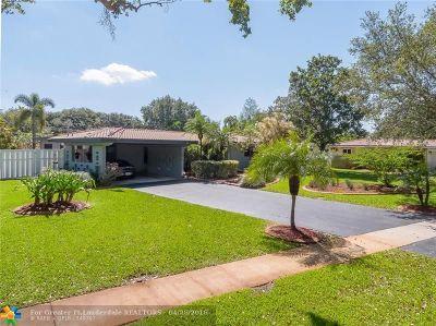 Plantation Single Family Home Backup Contract-Call LA: 884 Petunia Dr