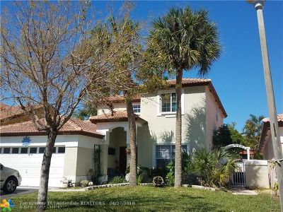 Coconut Creek Single Family Home For Sale: 5551 NW 50th Ave