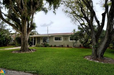 Pompano Beach Single Family Home For Sale: 1116 SW 1st Ter