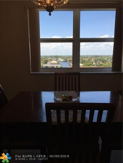 Fort Lauderdale Condo/Townhouse For Sale: 4010 Galt Ocean Dr #812
