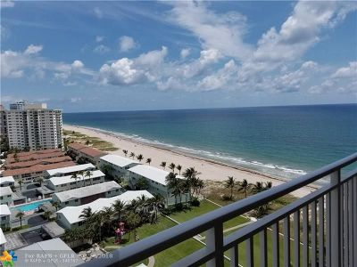 Lauderdale By The Sea Condo/Townhouse For Sale: 5200 N Ocean Blvd #1608