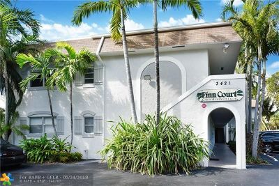 Oakland Park Condo/Townhouse For Sale: 3421 NE 15th Ave #7