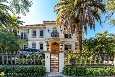 Fort Lauderdale Rental For Rent: 925 Ponce De Leon Dr
