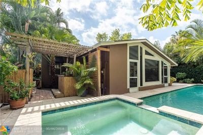 Victoria Park Single Family Home For Sale: 1419 NE 4th Ct