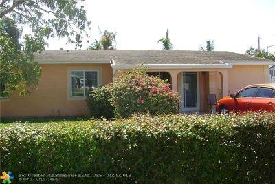 North Lauderdale Single Family Home Backup Contract-Call LA