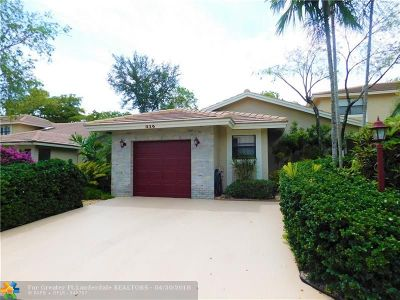 Deerfield Beach Condo/Townhouse For Sale: 416 Lake Point South Ln #416