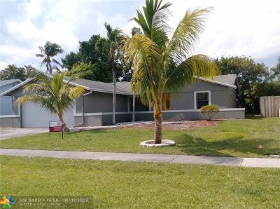 Boca Raton FL Single Family Home For Sale: $334,900