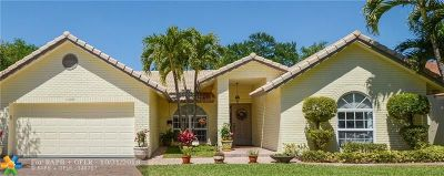 Coral Springs Single Family Home For Sale: 11899 NW 2nd Mnr