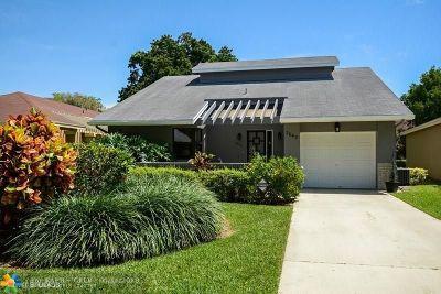Coconut Creek Single Family Home For Sale: 2642 Calliandra Ter
