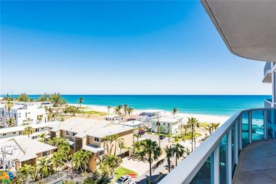 Pompano Beach Rental For Rent: 801 NE Briny Ave #704