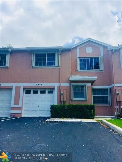 Cooper City Condo/Townhouse Backup Contract-Call LA: 4944 SW 123rd Ter #4944