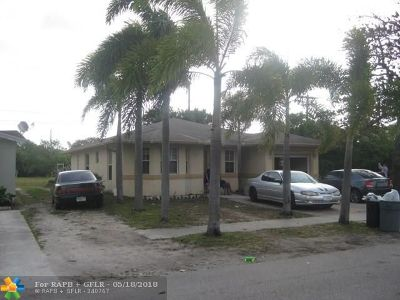 Pompano Beach Single Family Home For Sale: 710 NW 17th Te