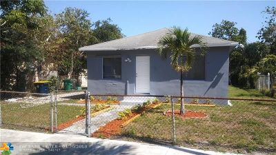 Dania Beach Single Family Home For Sale: 708 SW 7th St