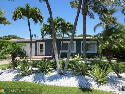 Lighthouse Point Single Family Home For Sale: 2011 NE 27th St