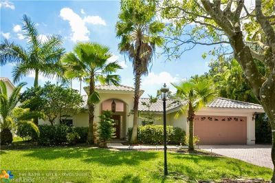 Coral Springs Single Family Home For Sale: 5019 NW 106th Ave