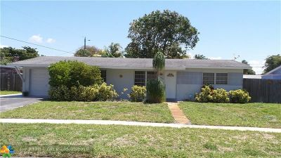 Deerfield Beach Single Family Home For Sale: 1304 SE 2nd Ter