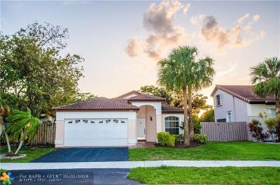 Coconut Creek Single Family Home For Sale: 5331 NW 49th Ave