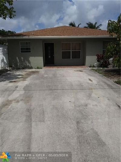 Delray Beach Single Family Home For Sale: 312 NW 1st Ave