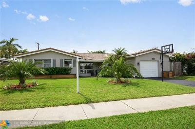 Fort Lauderdale Single Family Home Backup Contract-Call LA: 5820 NE 21st Dr