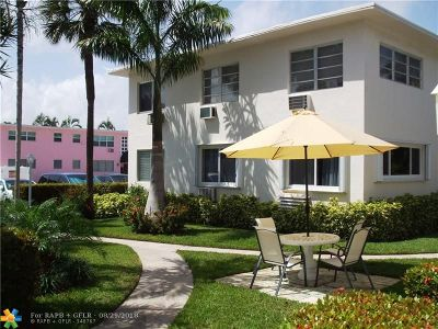 Fort Lauderdale Condo/Townhouse For Sale: 624 Antioch Av #20