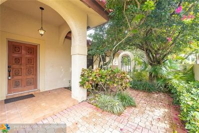 Coral Springs Single Family Home For Sale: 1872 Monte Carlo Way