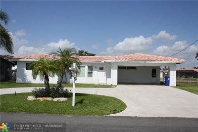Pompano Beach Single Family Home For Sale: 651 SE 6th Ter