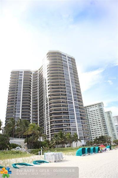 Lhermitage I Condo, Lhermitage Ii Condo Rental For Rent: 3200 N Ocean Blvd #406