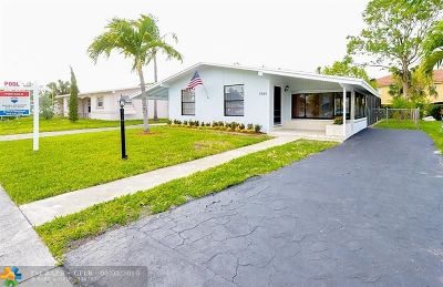 Margate Single Family Home Backup Contract-Call LA: 5561 SW 6th St