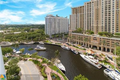 Fort Lauderdale Condo/Townhouse For Sale: 347 N New River Dr #1404